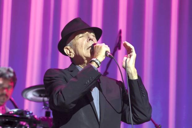 Leonard Cohen performs at Perth Arena 13 November 2013