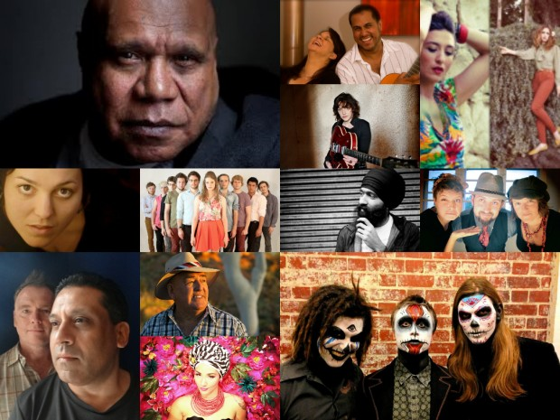 Nannup Music Festival Artists Collage