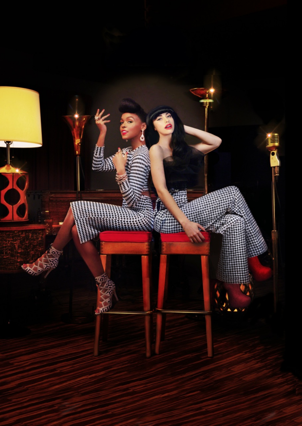Janelle and Kimbra