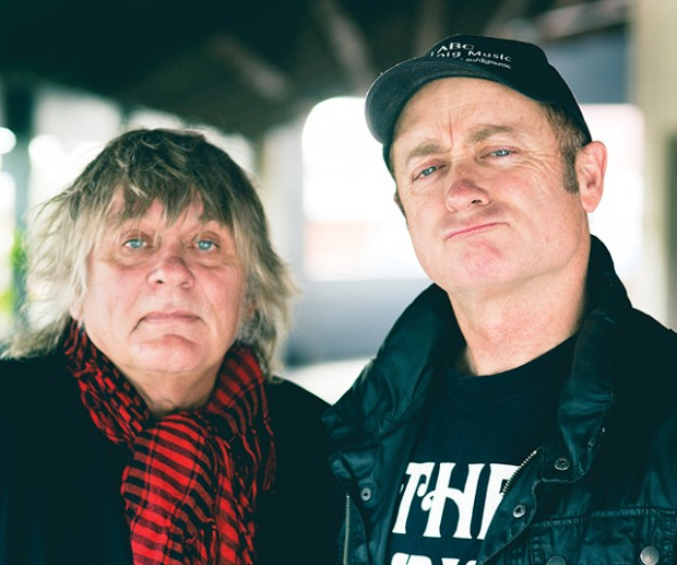 James Baker and Dave Faulkner of the Victims, at the Rosemount Hotel – Photo by Daniel Grant