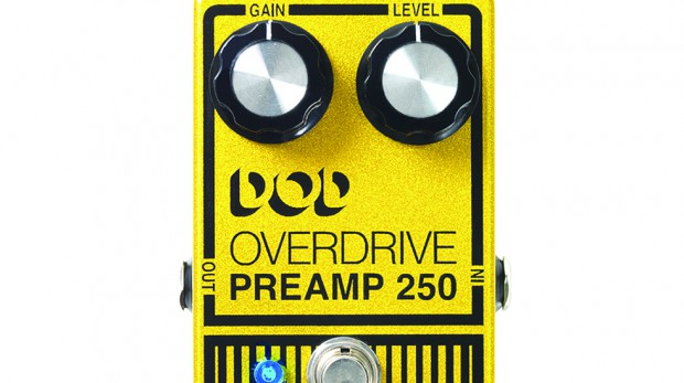 DOD Overdrive Preamp  250 Pedal / VOX Straight 6 Drive Pedal