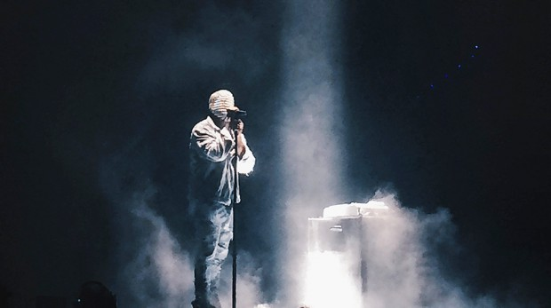 Kanye West Pic by: Adam Del Borrello