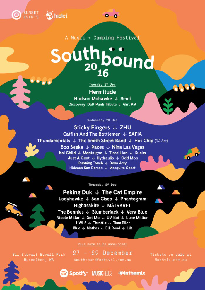 Southbound.2016.poster